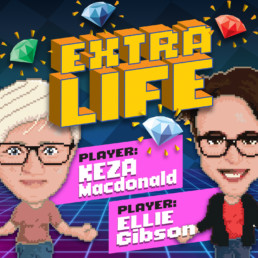 Extra Life podcast album cover